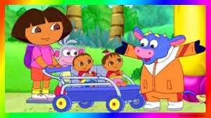 100 Dora High Chair And Friends The Explorer Episodes S Family Gameplay As