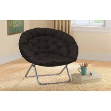 plush oversized moon chair available in multiple colors walmart com