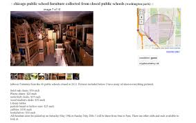 100 Craigslist Chicago Il Cars And Trucks By Owner Furniture From Closed CPS Schools Ends Up In Surprising Places WBEZ