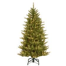 Artificial Fraser Fir Christmas Tree Sale by Shop National 4 5 Ft Pre Lit Frasier Fir Slim Rightside Up