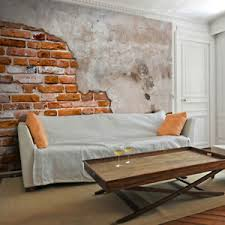details zu vlies fototapete ziegelstein mauer steinwand tapete wandbilder wohnzimmer 8