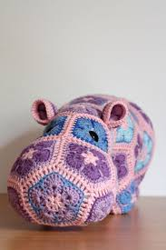 193 best AFRICAN FLOWER crocheted animals images on Pinterest