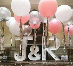Discount 36 Inch Thicken Latex Oversized Balloons Helium Pearl