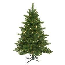 45 Foot Camdon Fir Slim Artificial Christmas Tree Clear 45 Ft
