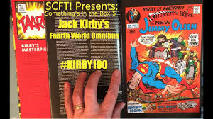 Presents Somethings In The Box 5 Jack Kirbys Fourth World Omnibus Kirby100 Large