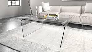 glastisch couchtisch wohnzimmer oder büro eleganter tisch