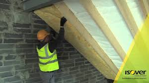 Insulating Cathedral Ceilings Rockwool by How To Insulate Timber Rafters Isover G3 Metac Touch Youtube