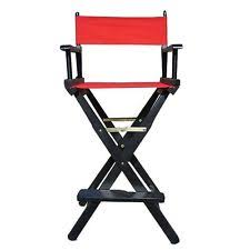 Aluminum Directors Chair Bar Height by Director U0027s Chairs Ebay