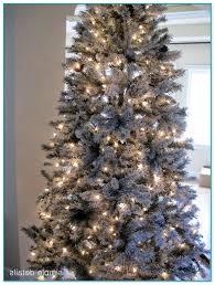Downswept Pencil Christmas Tree by Pre Lit Blue Spruce Christmas Trees
