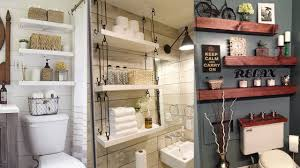 Brilliant Over The Toilet Storage Ideas - YouTube Small Space Bathroom Storage Ideas Diy Network Blog Made Remade 15 Stunning Builtin Shelf For A Super Organized Home Towel Appealing 29 Neat Wired Closet 50 That Increase Perception Shelves To Your 12 Design Including Shelving In Shower Organization You Need To Try Asap Architectural Digest Eaging Wall Hung Units Rustic Are Just As Charming 20 Best How Organize Tiny Doors Combo Linen Cabinet