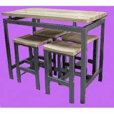 table de cuisine haute avec tabouret table de cuisine haute top table en palette ides dcouvrir photos