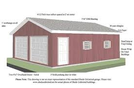 FREE Garage Dimension and Building Plans for your Next Garage Project
