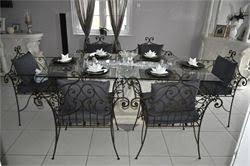 les trésors de safi ensemble table chaise