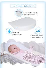 Bed Wedge Acid Reflux by Hypoallergenic Universal Bassinet Acid Reflux Baby Sleep