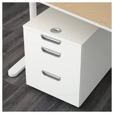 Plastic Drawers On Wheels by Galant Drawer Unit On Casters White Ikea