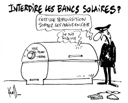 Cabine De Bronzage Faut Il Interdire La Publicit Le Kroll Du Jour Sur L Interdiction Des Bancs Solaires Le Soir Plus