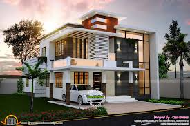 100 Contemporary Home Design June 2015 Kerala And Floor Plans
