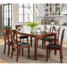 Nadine 7 Piece Breakfast Nook Dining Set