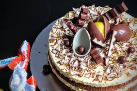 kinderschokolade torte schokoladen kuchen