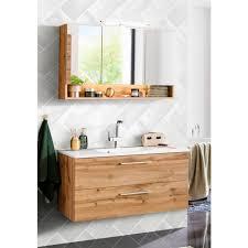held möbel badmöbel set soria 2 tlg waschplatz breite 100 cm spiegelschrank