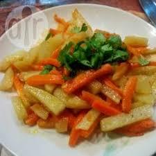 cuisiner la pomme de terre recette carottes et pommes de terre sautées toutes les recettes