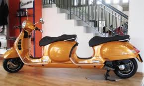 Vespa 4 Seater Stretched Scooter
