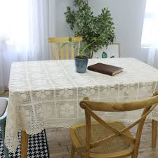 US $12.5 28% OFF|SunnyRain 1 Piece Cotton White Crochet Table Cloth  Christmas Tablecloth For Dining Table Rectangle Crocheted Coffee Table  Cover-in ... Us 125 28 Offsunnyrain 1 Piece Cotton White Crochet Table Cloth Christmas Tablecloth For Ding Rectangle Crocheted Coffee Coverin Free Runner Or Pattern And Small Things Diy Ontrend Chair Socks 26 Creative Rug Patterns Allfreecrochetcom 62 The Funky Stitch Back Covers By Cara Medus Diagram Ja001 Annies Attic 1992 Crochet Romantic Ding Room Vol Ii Ebay Chair Cover Pattern Seat Sacks Pockets Ding China Lace Vintage Large Floral Cover Wedding
