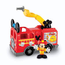 100 Mickey Mouse Fire Truck Amazoncom FisherPrice Disneys S Toys Games