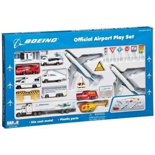 Daron Boeing Aircraft Playset - 24pc