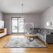 fototapete wohnzimmer mit terrasse
