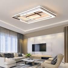 nordic decke kronleuchter led panel lichter nacht aluminium