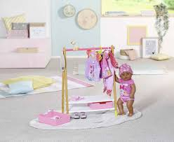 29 99 baby born kleiderstange puppenmöbel mit