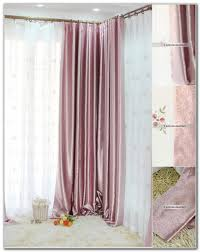 Pink Ruffle Blackout Curtains by Pink Blackout Curtains Canada Curtains Home Design Ideas