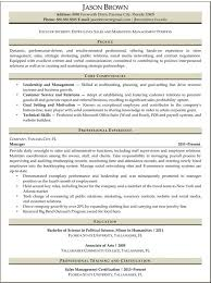 Entry Level Sales And Marketing Resume Example