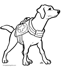 Free Dog Coloring Pages Bing Images Printable