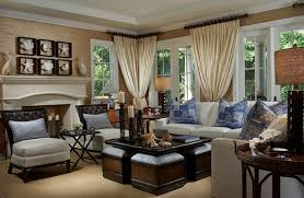 Country Style Living Room Curtains by Living Room Ikea Decor Modern Brown Living Room Furnished With A