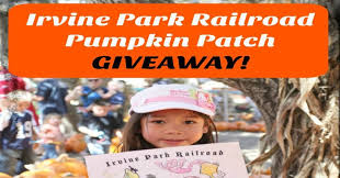 Pumpkin Patch Irvine Park Hours by The Irvine Park Railroad U0027s Annual Pumpkin Patch Giveaway Socal