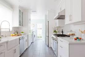 Small White Galley Kitchen Ideas — DESJAR Interior Simple