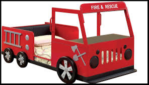 100 Kids Truck Bed Frame Furniture Boys Modern Vintage Fire Design