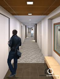 Simply Seamless Carpet Tiles Canada by Interface Modern Carpet Tile In A Commercial Building Corridor