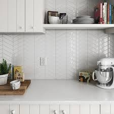 Chevron Wall DQCW 01 Kitchen In 2019 Chevron Tile Kitchen