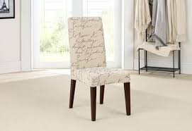 Chair Cover Dining Room Stretch Pen Pal Short Slipcover Ikea Covers