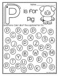 Find The Letter Alphabet Recognition Worksheets by ABC s of Literacy