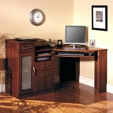 desk clear glass personal computer desks tier one designs a
