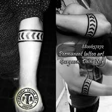 Solid Armband Tattootribal Line Arm Tattoos Tattoo Armbands