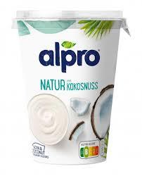 alpro soja joghurt natur mit kokosnuss