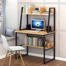 ecke kleine computer schreibtisch 2 regale laptop studie tisch home workstation desktop
