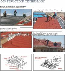 Metallic Tiles South Africa by Red Stone Building Material Like Roof Tile And Box Barge Cover For