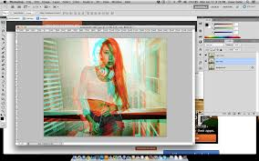 How to Create 3D Anaglyph in shop