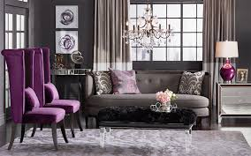 Grey And Purple Living Room by Grey And Purple Living Room